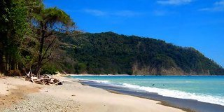 Cabo Blanco Absolute Natural Reserve is located on the southern tip of the Nicoya Peninsula.