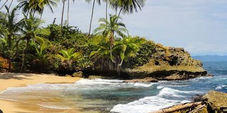 Gandoca Manzanillo Wildlife Refuge is home to some of the most beautiful scenery in all of Costa Rica! It is located along the southern Caribbean coast creating beautiful jungle lined beaches.