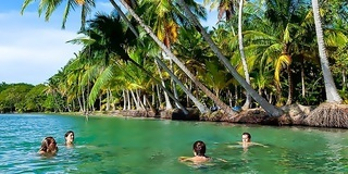 Bocas del Toro is home to plenty of water activities including snorkeling and diving.