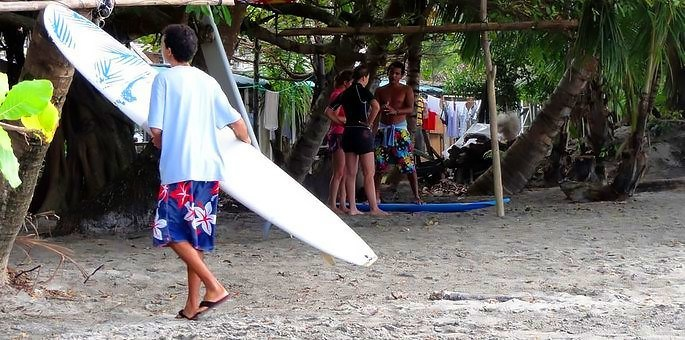 Surf Lesson - Dominical Surf Adventures