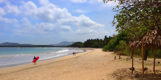 Tamarindo is one of the most beautiful and modern beach areas along the Pacific coast.