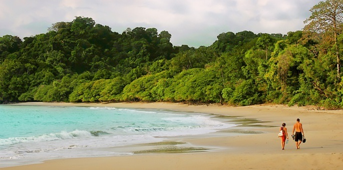 If all of Costa Rica's beaches entered a beauty pageant, Manuel Antonio would surely be crowned winner.