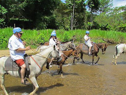 Horseback Ride to Tocori Waterfalls