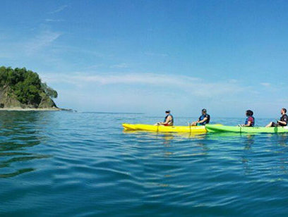 Kayaking and Snorkeling Tour to Chora Island - Carrillo Adventures
