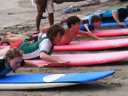 Surf Lesson - Manuel Antonio Surf School