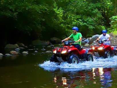 Waterfall Tour on ATV - Borinquen Mountain Resort