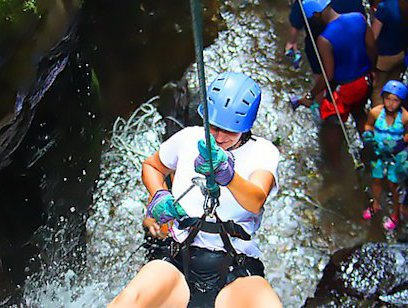 Whitewater Rafting Rio Colorado and Rappel