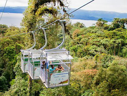 Sky Tram, Trek, and Walk - Sky Adventures Arenal