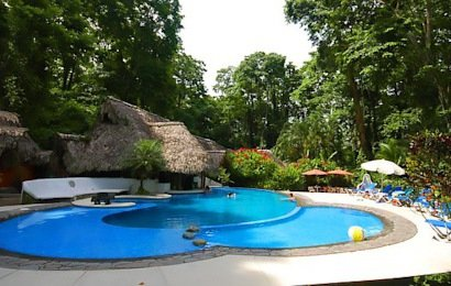 Cariblue Beach & Jungle Resort is a neat little lodge located just across the street from gorgeous Playa Cocles.
