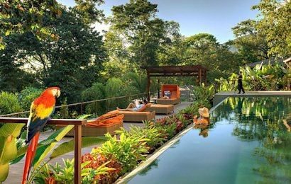 Arenal Nayara Hotel and Gardens provides the ultimate in eco-friendly luxury.