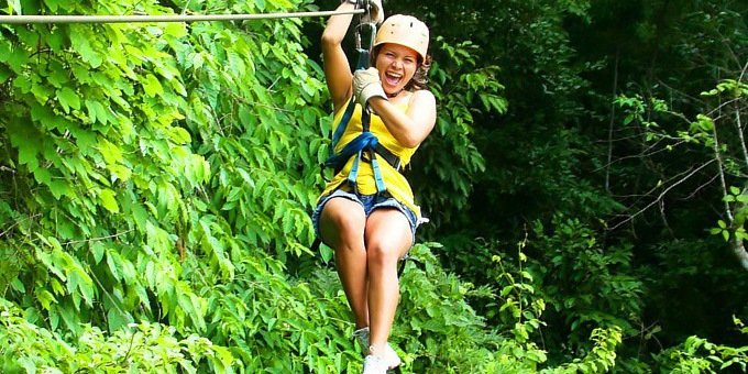 Canopy Zipline - Canyon Lodge