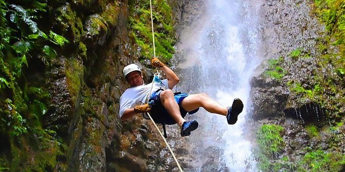 Canyoning and Waterfall Rappelling