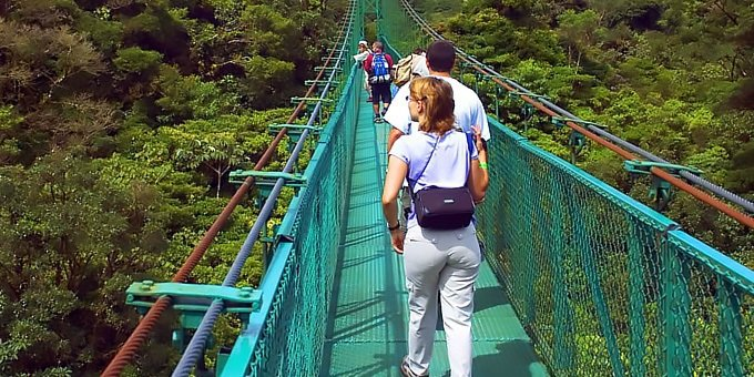 Sky Walk Guided Hike - Sky Adventures Monteverde