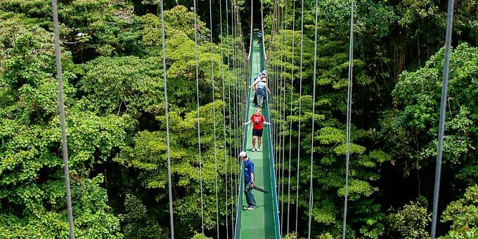 Sky Walk Hanging Bridges Tour - Guided