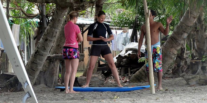 Surf Lesson at Jaco