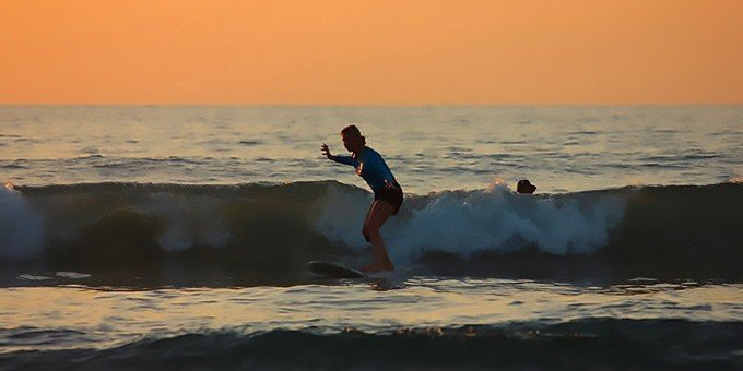 Surf Lessons At Tamarindo Beach