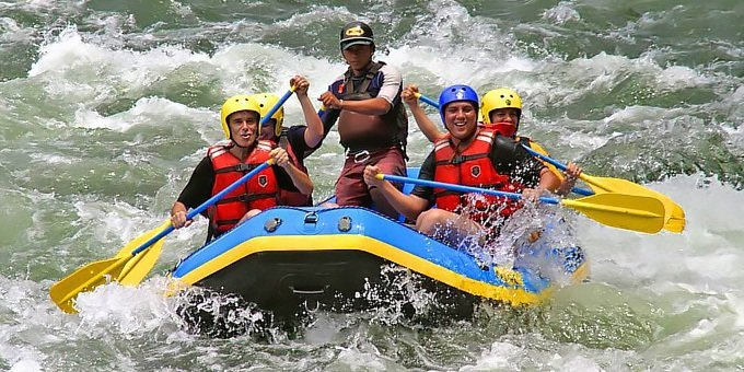 Whitewater Rafting Rio Colorado