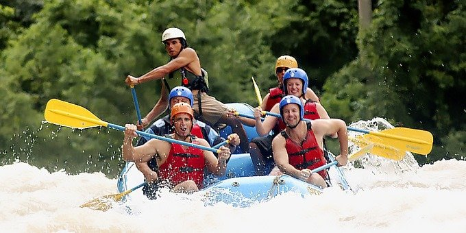 Whitewater Rafting Rio Savegre