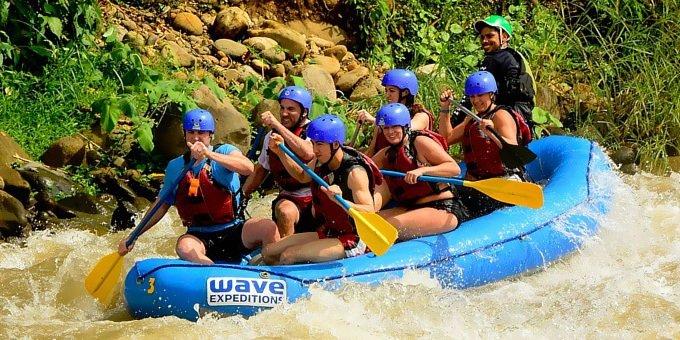 Whitewater Rafting Rio Sarapiqui