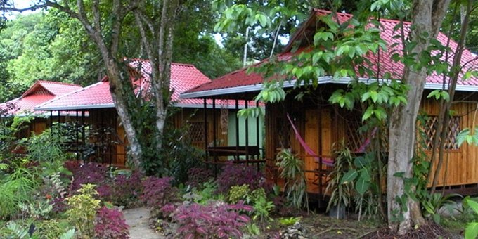 Coral Hill Bungalows are comfortably equipped bungalows located in Cahuita at Playa Negra. The hotel is located within walking distance to the beach.  Hotel amenities include tropical gardens and breakfast bar.