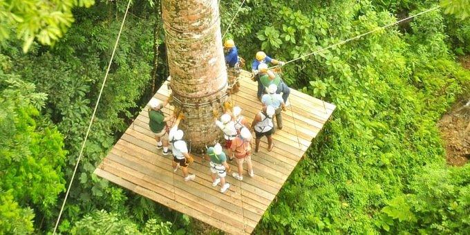 Canopy Zipline Vista Los Suenos