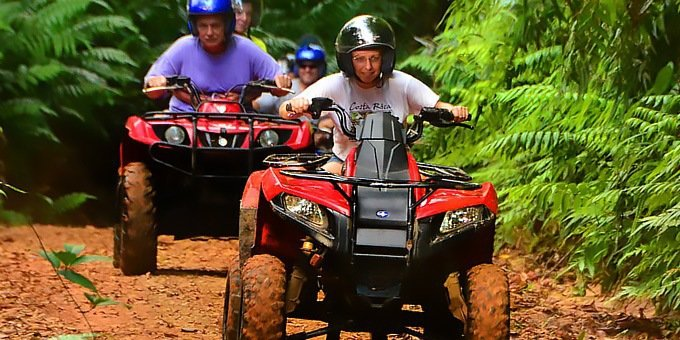 Aventuras Canopy and ATV Combo - Single