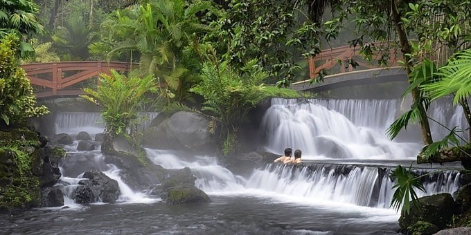 Tabacon Hot Springs Evening Pass - Sunset Tours