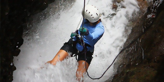 Canyoning Tour at Arenal Volcano