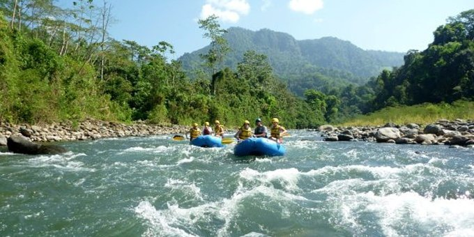 Whitewater Rafting Rio Savegre