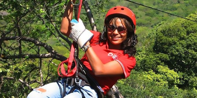 Canopy Zipline Monkey Jungle