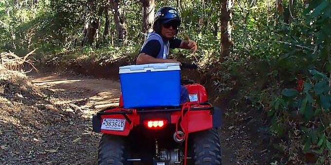 Combo ATV Tour and Canopy - Single