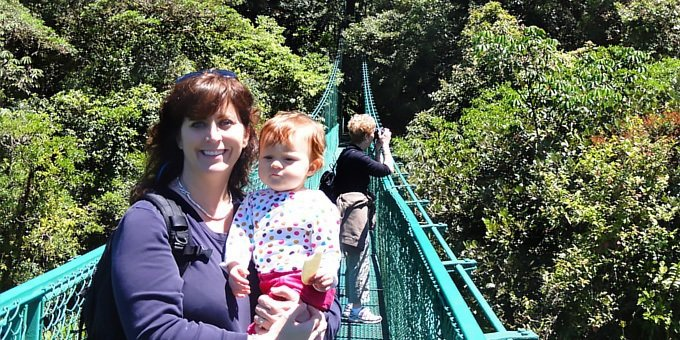 Guided Hanging Bridges, Butterflies and Hummingbird Combo