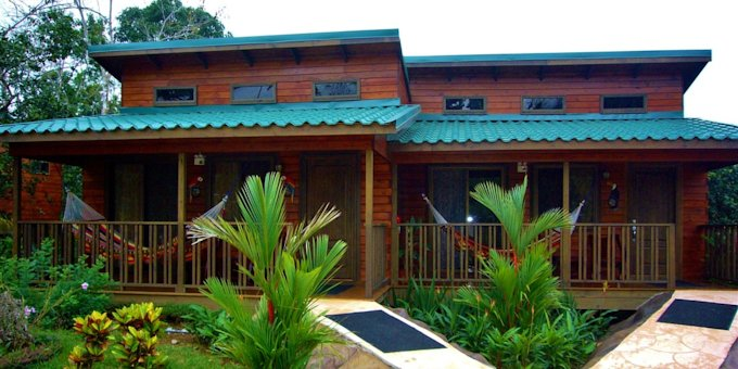 The Blue River Resort is a Costa Rica style eco resort located on the northeastern flank of Rincon de la Vieja Volcano.  Hotel amenities include restaurant, bar, swimming pool, hot springs, botanical gardens, butterfly garden, spa, gym and wireless internet.
