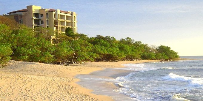 Crystal Sands Condominiums are located within 50 meters of the beautiful Langosta Beach of Tamarindo.  Resort amenities include swimming pool, concierge, common areas, basement parking and security.