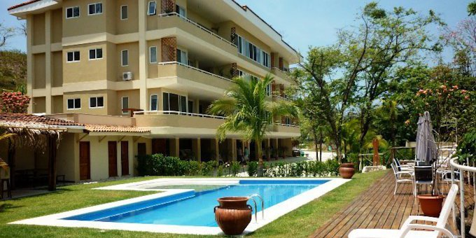 Montelaguna Residence is a new high quality condominium property conveniently located within ten minutes walking distance of both Samara and Carrillo beaches.  Property amenities include swimming pool, children's play area, common area, tropical gardens, maid service and private guest parking.
