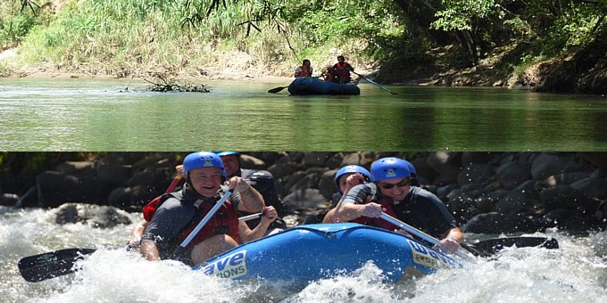 Choice of Rafting OR Safari Float
