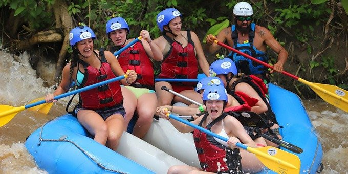 Canyoning and Rafting Combo