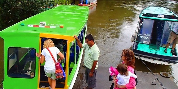 Sarapiqui Riverboat Tour