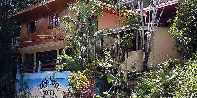 Jungle Beach Hotel is an inn style hotel that is both affordable and comfortable. The hotel is located near the main beach and within walking distance of the entrance into the Manuel  Antonio National Park, both of which are great for day trips. Hotel amenities include breakfast area,  secure parking area, and complimentary Wi-Fi. The vibe at Jungle Beach Hotel is very fresh, relaxing, and homey, making it a great location for couples or families that are traveling on a budget.