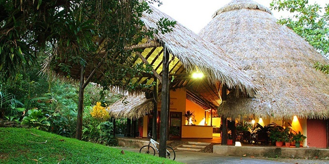 Sarapiqui Rainforest Lodge is a rainforest eco-lodge, archaeological site, and reserve located in the Sarapiqui region.  Hotel amenities include swimming pool, WiFi, restaurant, bar, conference room, nature trails, museum, botanical gardens and internet.