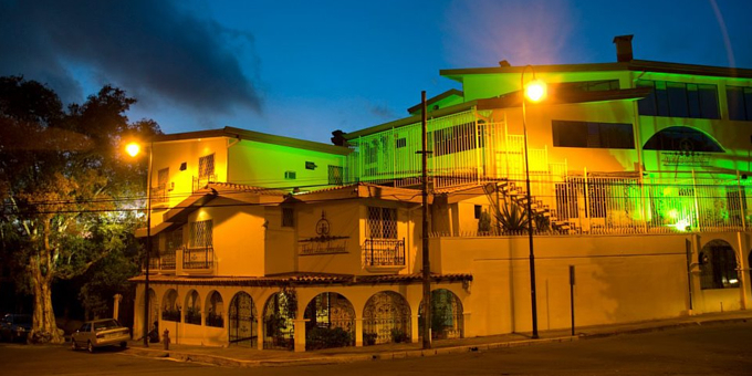 Hotel La Amistad Inn is budget friendly hotel located in San Jose.  The hotel was a private mansion that was recently renovated into a working hotel.  Amenities include restaurant, bar, laundry service, and wireless internet access.