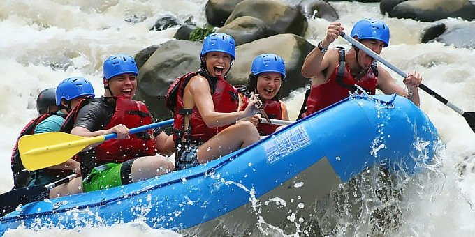 Arenal is the best all-around destination in Costa Rica for whitewater rafting.