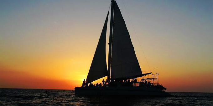 Enjoy the beautiful Guanacaste coast on a romantic catamaran cruise.
