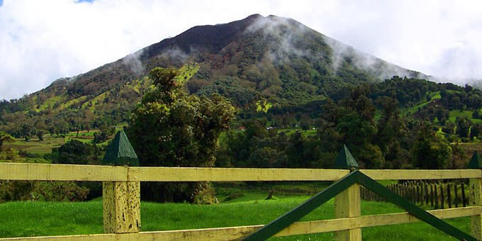 Turrialba Volcano National Park is located in the Cartago Province and encompasses over 3,900 acres of land.