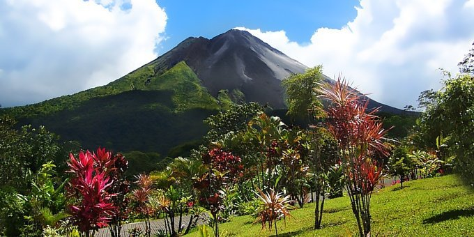 Located along the Ring of Fire, Costa Rica is home to over two hundred identified volcanic formations, some of which are over sixty million years old.