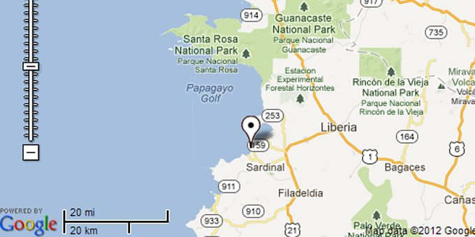 Playa Hermosa Map Explore One Of Costa Ricas Most Popular Beaches