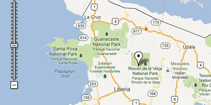 Explore the many National Park destinations in Rincon de la Vieja and its neighboring regions.