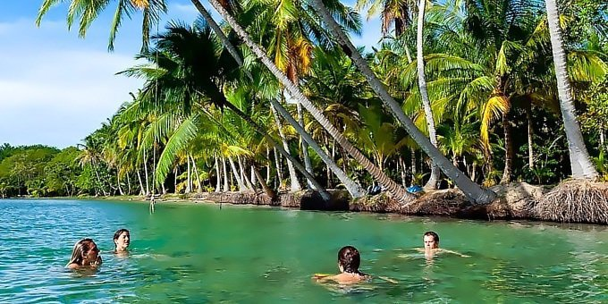 Bocas del Toro is home to plenty of water activities including snorkeling and diving. A visit to star beach is a much from the main island.