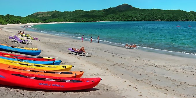 July is the most popular month for families visiting Costa Rica.