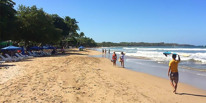 Tamarindo is located in the Northwest Pacific, which is one of the driest climates in Costa Rica.